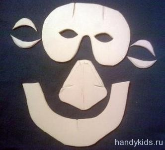 Детали для маски ведьмы