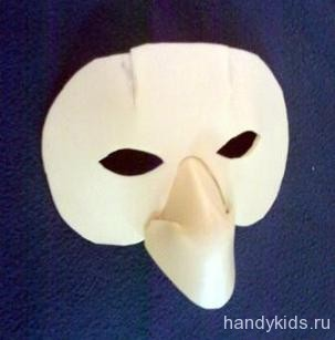 Изготовление карнавальной маски