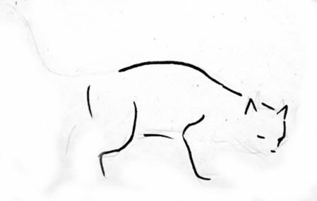 Рисуем кошку 1