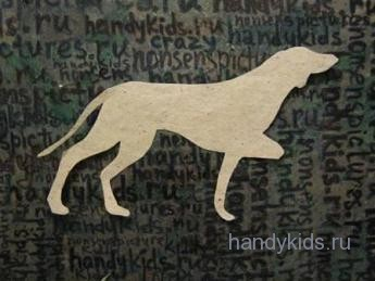 Силуэт охотничьей собаки