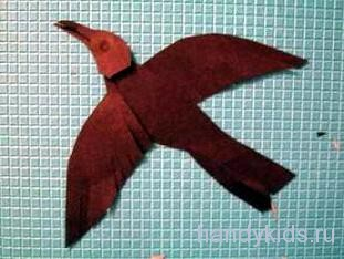 Летящая птица
