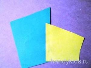 Склеиваем куски бумаги