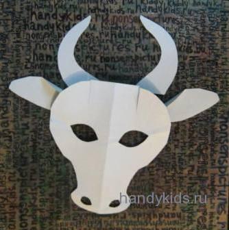 Детали для маски быка