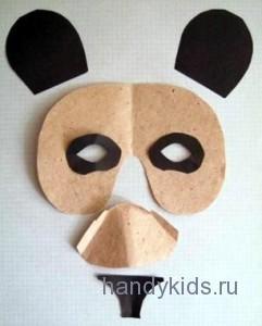 Сделаем маску панды