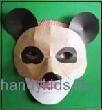Маска панды 2