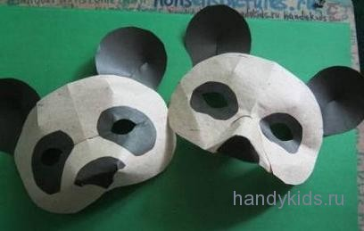Два  способа изготовления маски