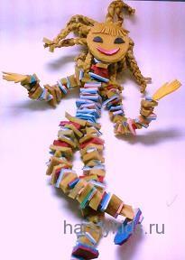 Кукла из поролона