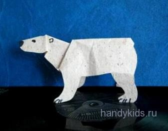 Модель белого медведя