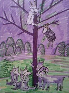 Совещание под деревом