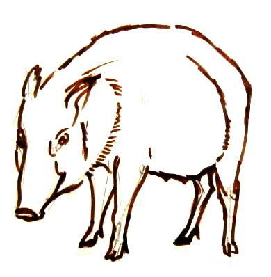 Рисунок Кабаниха