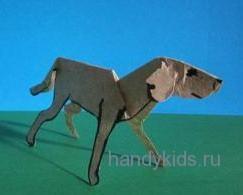 Бумажная собака
