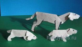 Семейство бумажных собак