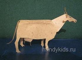 Модель коровы