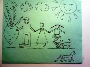 Рисуем картинки к сказкам.
