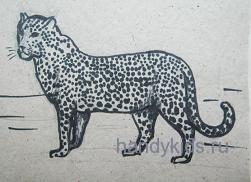 Картинка-леопард
