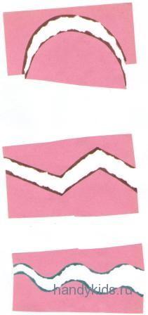 Разрывание бумаги