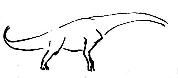 Нарисуем брахиозавра поэтапно