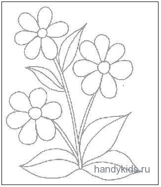 Условно-обобщённый цветок