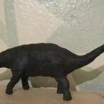 Как лепить динозавров( брахиозавра и диплодока)