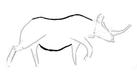 Рисуем африканского носорога