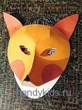 Вариант маски лисы