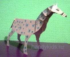 Модель -лошадь