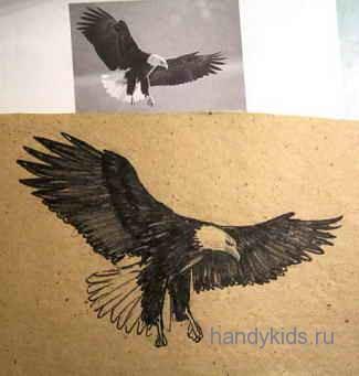 Рисуем птиц