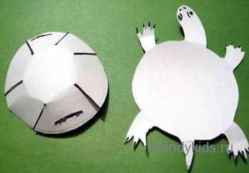 Черепаха из бумаги