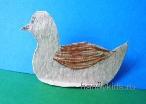 Плоско-устойчивая модель утки