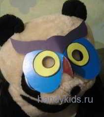 Пандит в маске совы