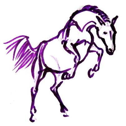 Рисунок лошадь