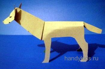 Модель-волк