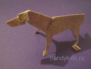 Модель собаки-волка