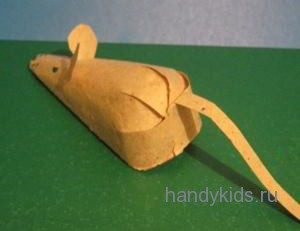 Поделка -мышь
