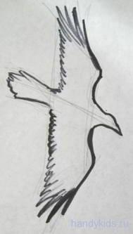 Летящий грач