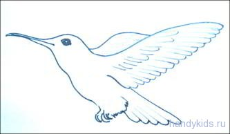 Узор перьев