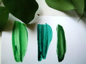 Зелёные краски