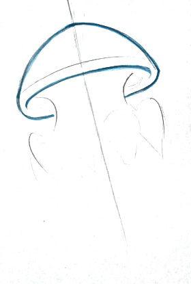 Рисуем медузу поэтапно