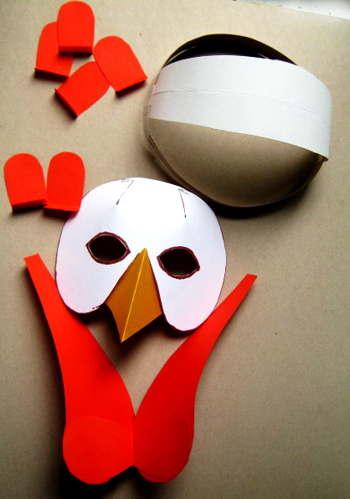 Сделаем маску петуха