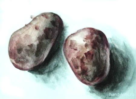 Рисунок Картошка