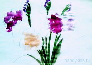 Рисуем букет цветов