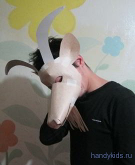 mask of a goat 003