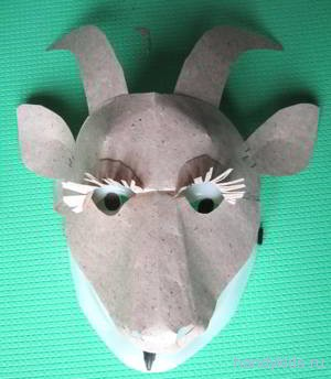 mask of a goat 017