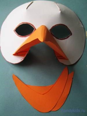 Сделаем маску утки своими руками