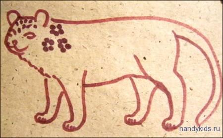 Раскраска Ягуар