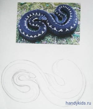 Рисуем змею