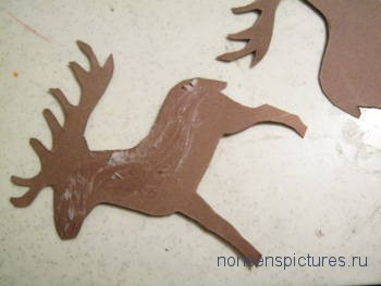 Изготовим  модель  северного оленя