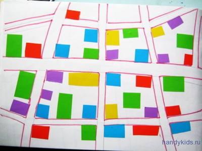 Аппликация План Города