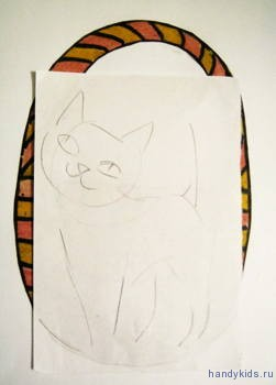 Как нарисовать котика
