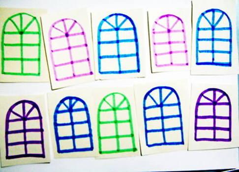 Раскраски окна